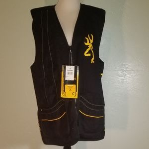 Mens Browning shooting vest NWT